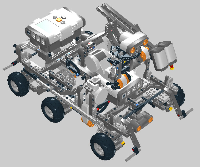 Mars Rover Project By Jrg Roth