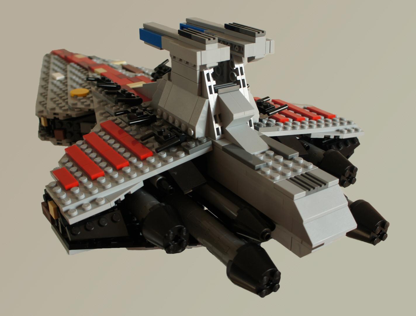 lego modell des star destroyers von j rg roth. Black Bedroom Furniture Sets. Home Design Ideas